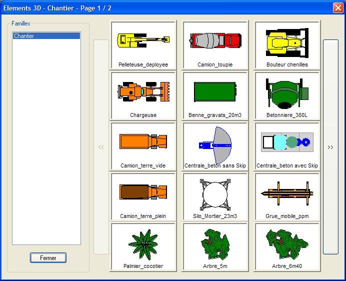 Dans le but d'une visualisation 3D, les bâtiments qui sont en ...